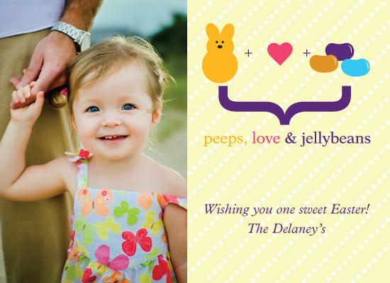 cards - peeps, love & jellybeans by Ashley Szeto