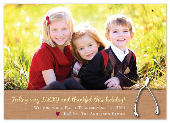 cards - Lucky Wishbone by Michelle Viesselman