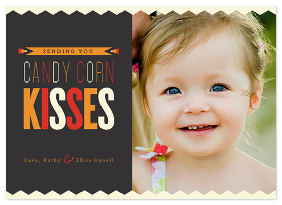 cards - Candy Corn Kisses by Carrie ONeal