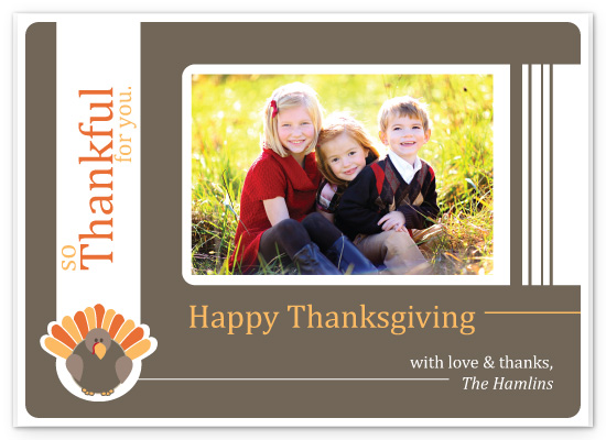 cards - Thankful Turkey by Kayte Studer