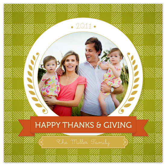 cards - A Plateful of Thanks by Kelley Malone