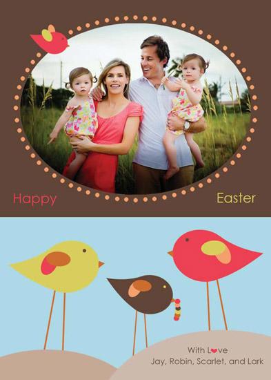 cards - Cheerful Birds by Malia Yee