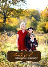 Thankful Greetings by Julie Rowe