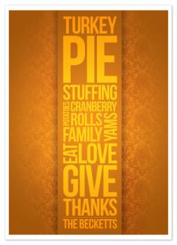 Eat. Love. Give. Thanks.