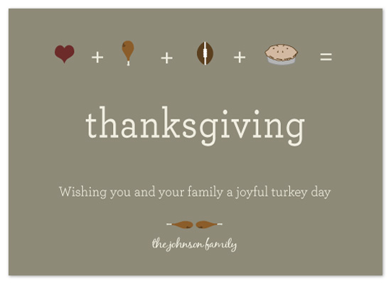 cards - The Joys of Thanksgiving by a visual concept
