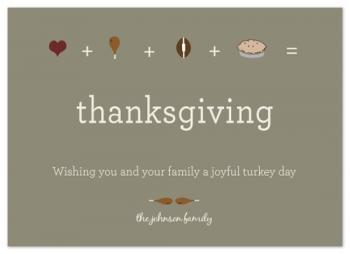 The Joys of Thanksgiving