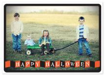 Folded Banner Hallowee... by Kristine Morich
