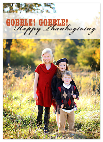 cards - Gobble! Thanksgiving by Kristine Morich