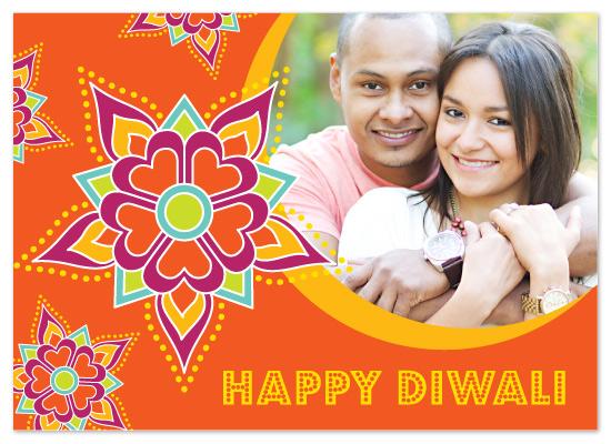 cards - Diwali Diya Rangoli by Juniper Berry Design