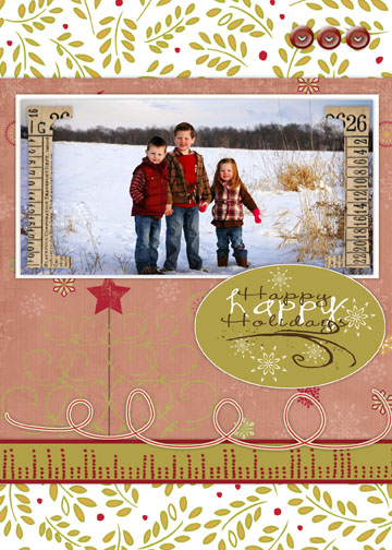 holiday photo cards - Modern Holiday Part One by Amy Teets