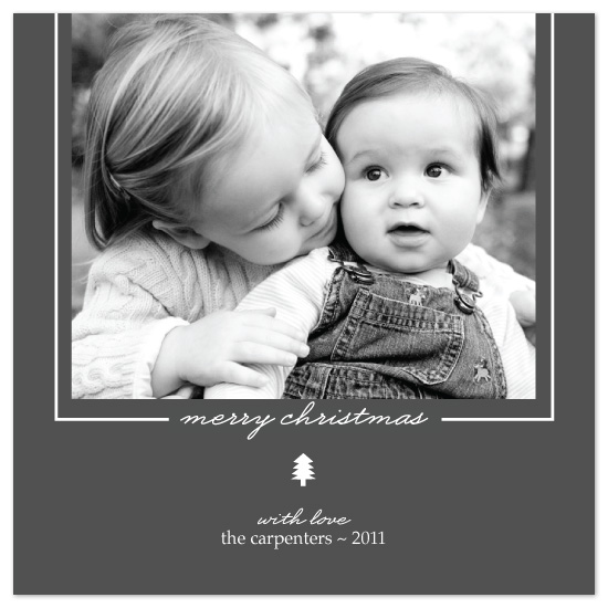 holiday photo cards - Modern Love by a visual concept