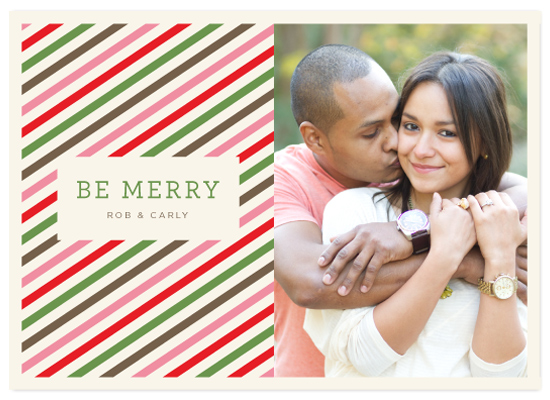 holiday photo cards - Twisted Peppermint by Carrie ONeal