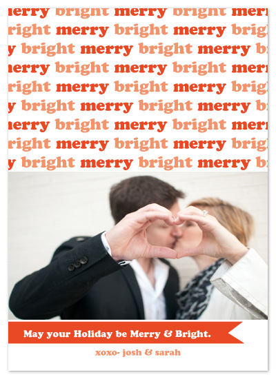 holiday photo cards - Berry Merry and Bright by Potluck Design