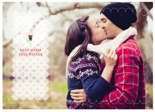 holiday photo cards - Keeping Warm by Corinne Wong