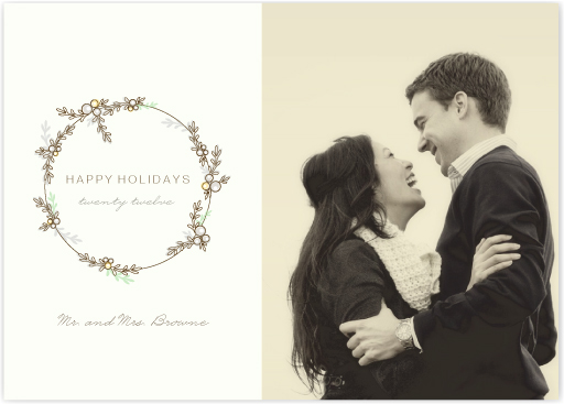 holiday photo cards - festoon by Marabou Design