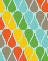 Teardrop Tiles by Papersaurus Creative