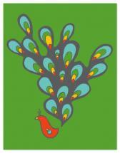 Peacock by Kelly Preusser