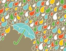 Happy Rain by Kari Lind Creations