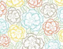 Sketched Blooms by Kari Lind Creations