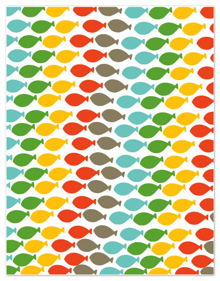 personal stationery - fishy by Kelly Preusser