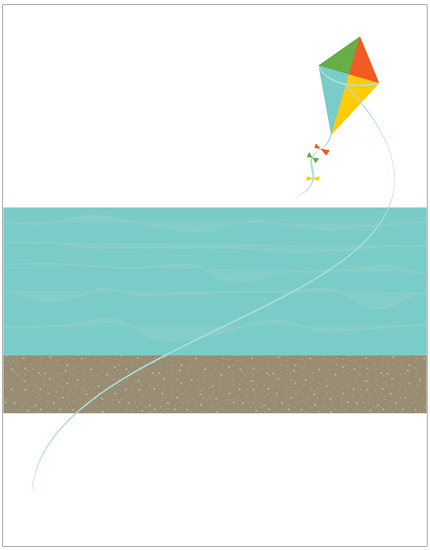 personal stationery - Summer Day by jot and scribble