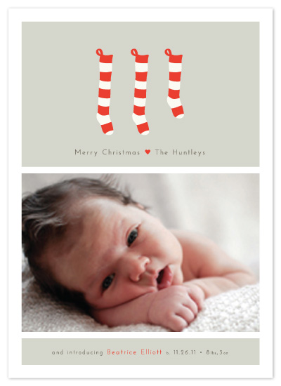 holiday photo cards - A New Stocking by Alston Wise
