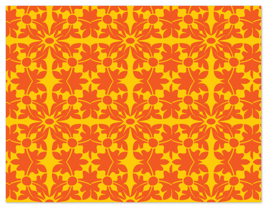 personal stationery - Patterned Leaves by C.O. Boutique