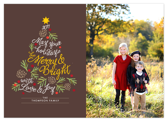 design - be merry and bright by Griffinbell Paper Co.