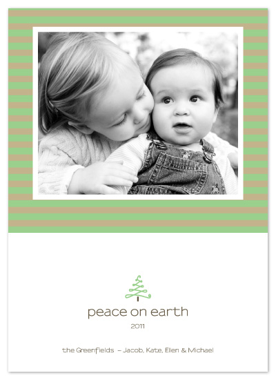 holiday photo cards - Tiny Tree by Whitney Beard