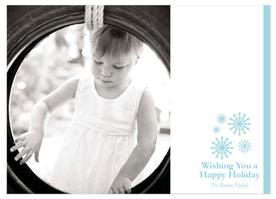 holiday photo cards - Snowflake Wishes by Tenille Jordan