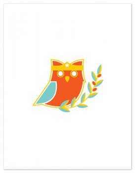 Super Hero Owl