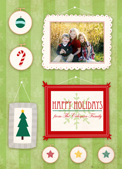 holiday photo cards - Framed by Stephanie Fizer Coleman