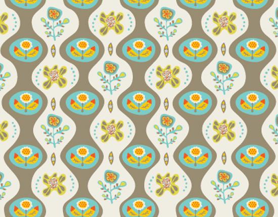 personal stationery - Vintage Flowers Pattern by Carmen Mok