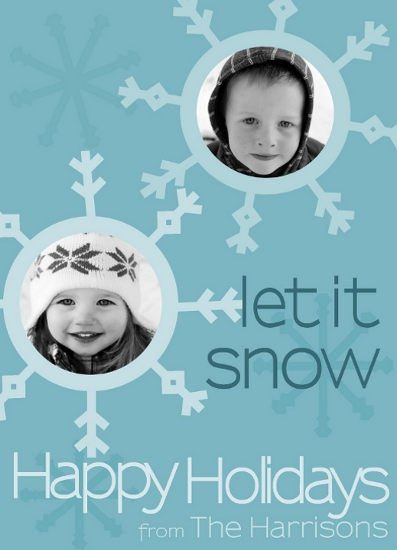 holiday photo cards - Let It Snow by melissa portell