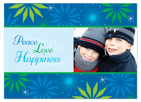 holiday photo cards - Peaceful Greetings by Marcia Copeland