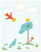 Bird Bird Mail by SiangQ