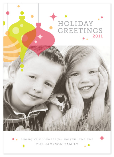 holiday photo cards - Retro Holiday by Kristen Smith