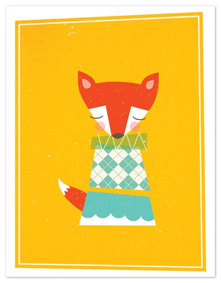 personal stationery - foxy by nocciola design