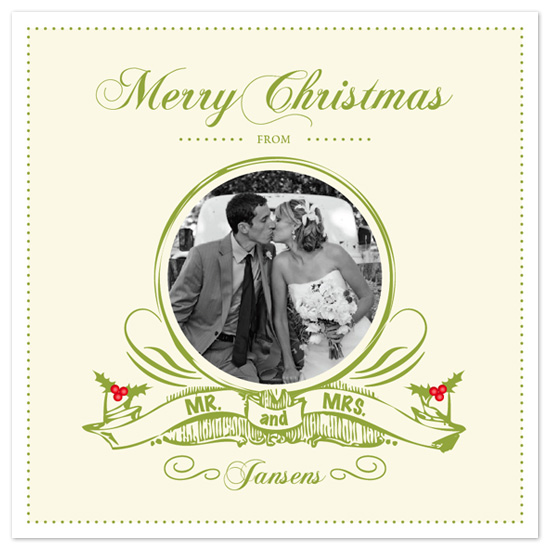 holiday photo cards - Merry Matrimony by - Keg Design -
