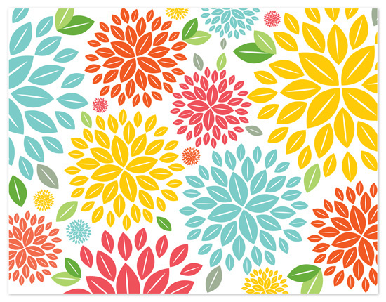 personal stationery - Spring in Bloom by Kelly Maron Horvath