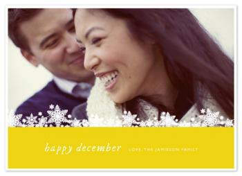 Happy December  |  Yellow
