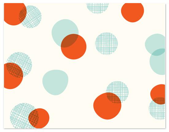personal stationery - crosshatch confetti by annie clark