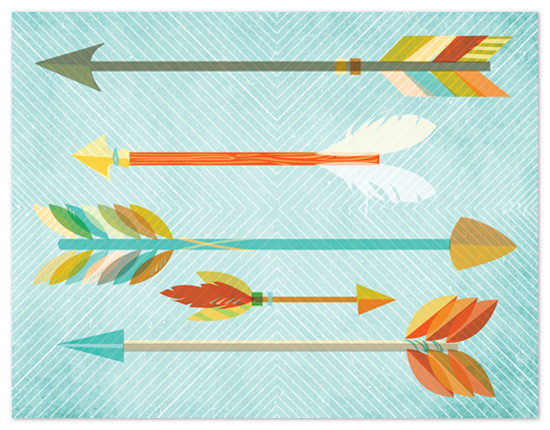 personal stationery - Quiver by Susie Allen