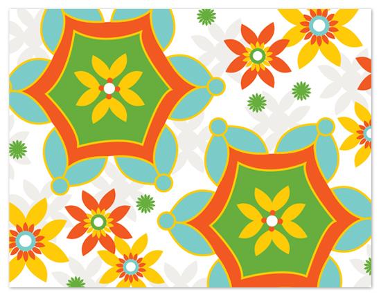 personal stationery - Blossom Bizasrre by Marcia Copeland