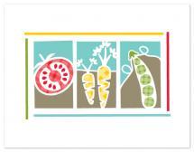 Plaid Veggies by Pera Press