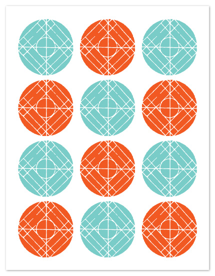 personal stationery - Zen Circles by J design