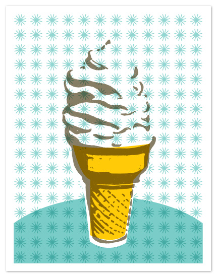 personal stationery - Soft Serve by J design