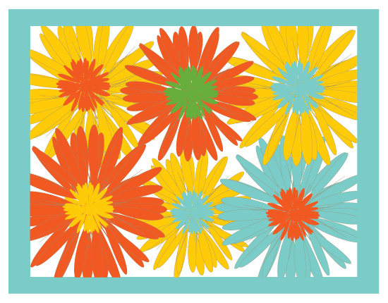 personal stationery - Flowers Galore by that girl Shelley
