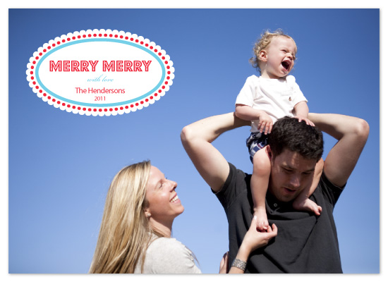 holiday photo cards - Merry Merry by Whitney Beard