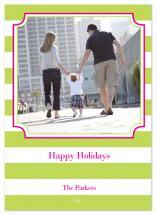 Bold Holiday Stripe by Whitney Beard